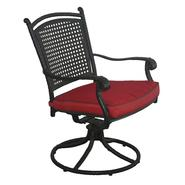 D.C.AMERICA Aluminum Rattan Swivel Chair at Kmart.com