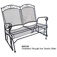 D.C.AMERICA Charleston Wrought Iron Double Glider at Sears.com