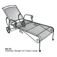 D.C.AMERICA Charleston Wrought Iron Chaise Lounge at Kmart.com