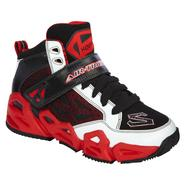 Skechers Boy's Hoopz Basketball Sneaker - White/Black/Red at Sears.com