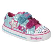 Skechers Girl's Twinkle Toes Shuffles Triple Up Athletic Shoe - Pink at Sears.com
