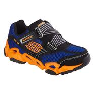 Skechers Boy's Titanz Sneaker - Navy/Orange at Sears.com
