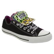 Converse Women's Chuck Taylor All Star Multi Tongue Oxford Athletic Shoe - Black/Animal Print at Sears.com