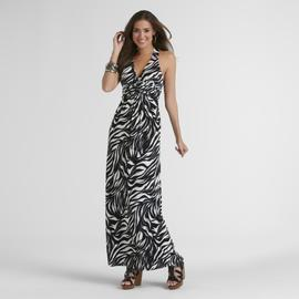 Epilogue Women's Maxi Dress - Zebra Stripes at Sears.com