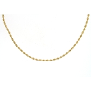 10k Yellow Gold 1.9mm 18 Inch Rope Chain at Sears.com