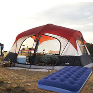 Northwest Territory Family Cabin Tent with Air Bed Bu...