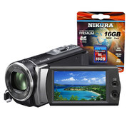 Sony HDR-CX Handycam Camcorder and Memory Card Bundle...