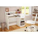 South Shore South Shore Axess Collection Small Desk Pure White at mygofer.com