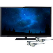 Panasonic 65 In. Smart 3D Viera ST60 Series Plasma 1080p Full HDTV with 2 Pair of Active 3D Glasses at Sears.com