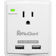 NuGiant NSS12 Desktop Surge Protector with USB Charger at Kmart.com