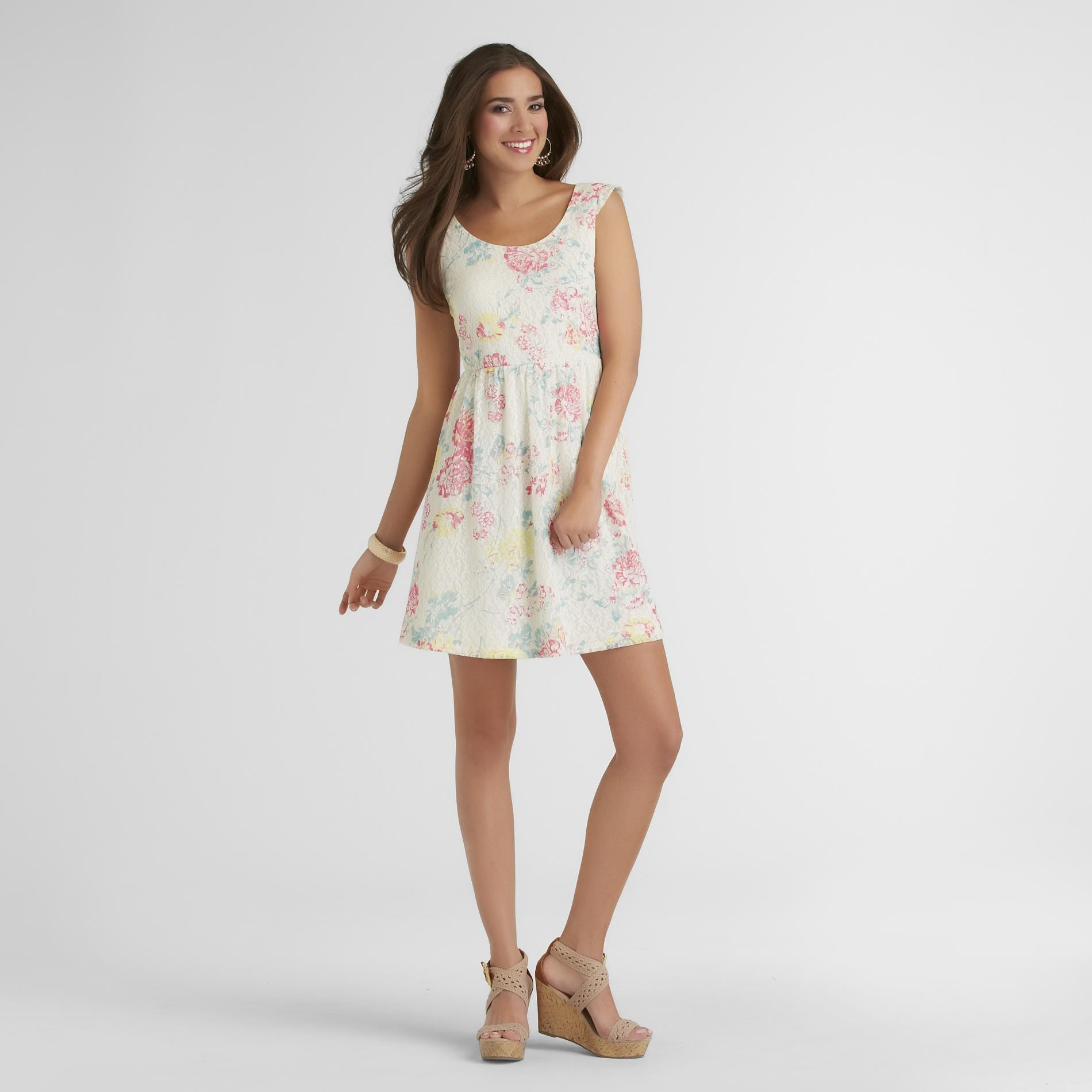 New Look Junior's Lace Dress - Floral at Sears.com