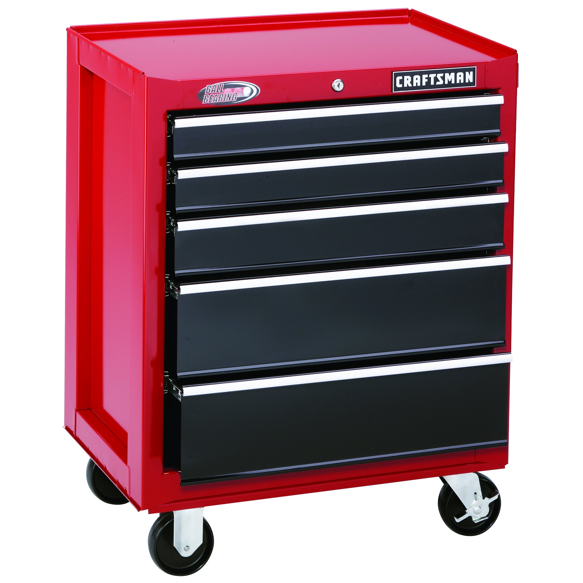 26-Wide-5-Drawer-Ball-Bearing-Bottom-Chest-Red-Black