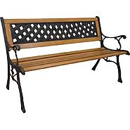 D.C.AMERICA Mesh Cast Stone Back Park Bench at Kmart.com
