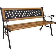 D.C.AMERICA Mesh Cast Stone Back Park Bench at Sears.com