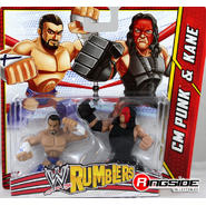 WWE CM Punk & Kane - WWE Rumblers Toy Wrestling Action Figures at Sears.com