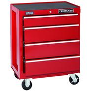 Craftsman 4-Drawer Red Ball-Bearing GRIPLATCH® Bottom Chest - Limited Edition at Sears.com