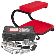 Craftsman Creeper Seat and Mechanics Tool Set Bundle ...