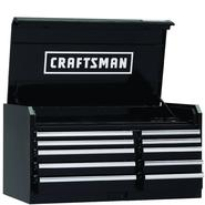 "Craftsman 46"" Wide 10-Drawer Industrial Grade Top Chest at Craftsman.com"