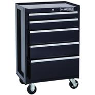 Craftsman 26.5 in. Wide 5 Drawer Bottom Chest, Black at Craftsman.com