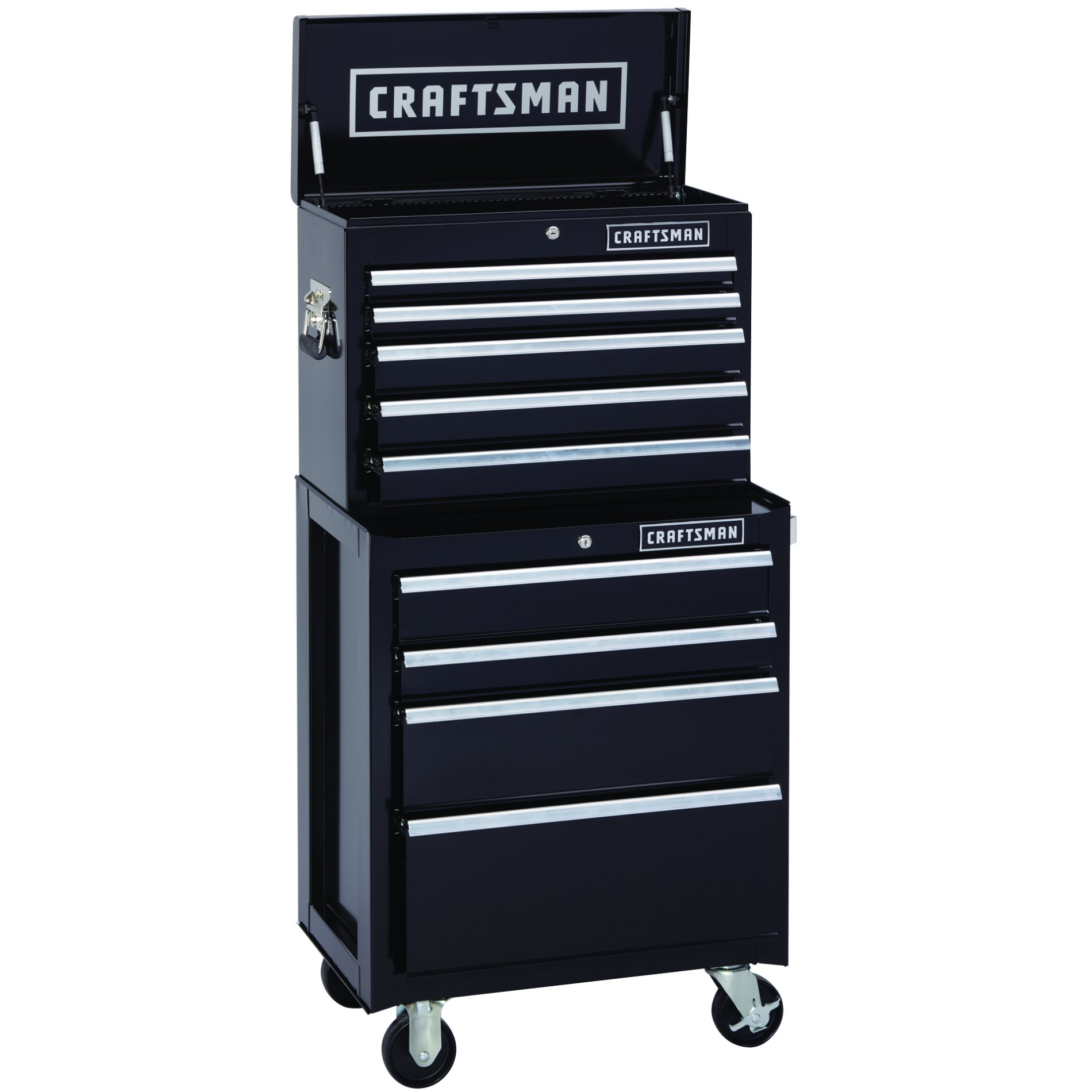 Craftsman-9-Drawer 2-Piece Heavy-Duty Ball-Bearing Combination - Each Item Sold Separately