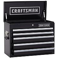 Craftsman 26 in. Wide 5 Drawer Heavy Duty Top Chest, Black at Craftsman.com