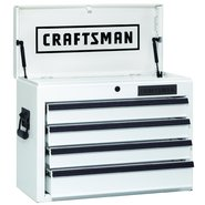"Craftsman 26"" Wide 4-Drawer Top Chest - White Dry Erase (Limited Edition) at Craftsman.com"