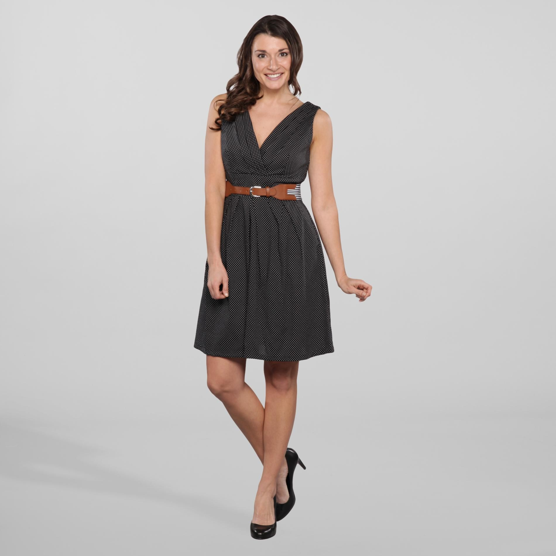 Women's Belted Dress at Kmart.com