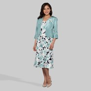 Dana Kay Women's A-Line Dress & Jacket - Floral at Kmart.com