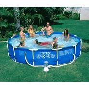 Intex 12ft X 30in Round Frame Pool Package at Sears.com