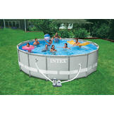 Intex 16 ft x 48 in Ultra Frame Swimming Pool at mygofer.com