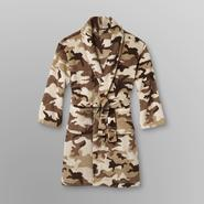 Joe Boxer Boy's Fleece Belted Robe - Sand Camouflage at Sears.com