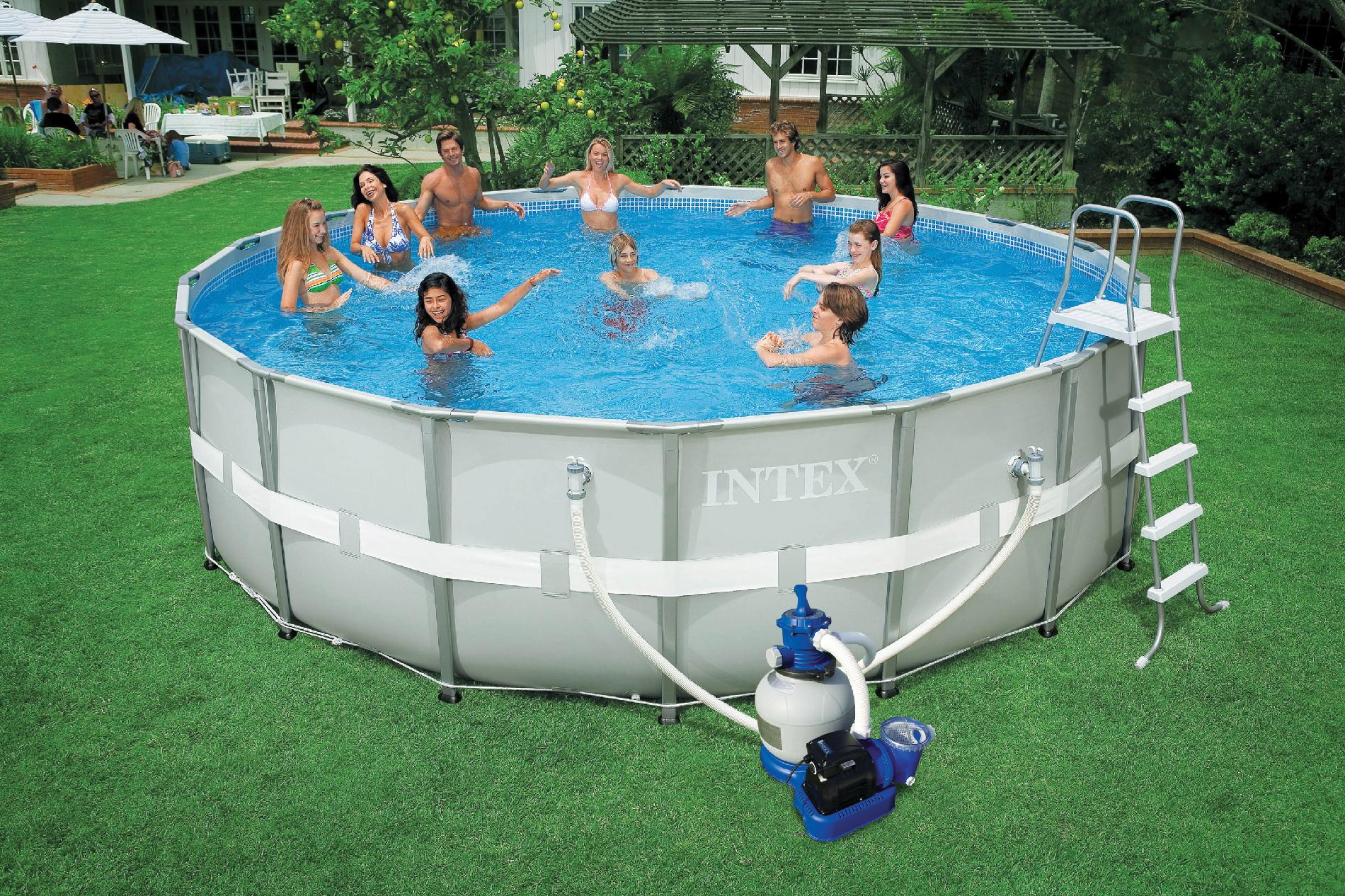 Intex  18ft x 52in Ultra-Frame Pool
