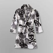 Joe Boxer Boy's Fleece Belted Robe - Skull & Crossbones at Sears.com