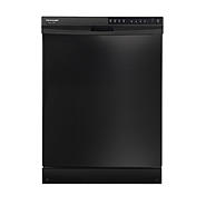 "Frigidaire Gallery 24"" Built-In Dishwasher w/ BladeSpray™ Wash System - Black at Kmart.com"