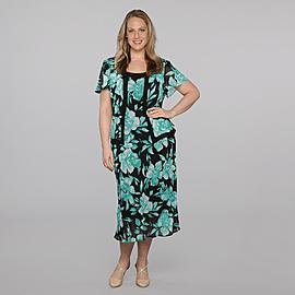 Studio 1 Women's Plus Dress & Jacket - Floral at Sears.com