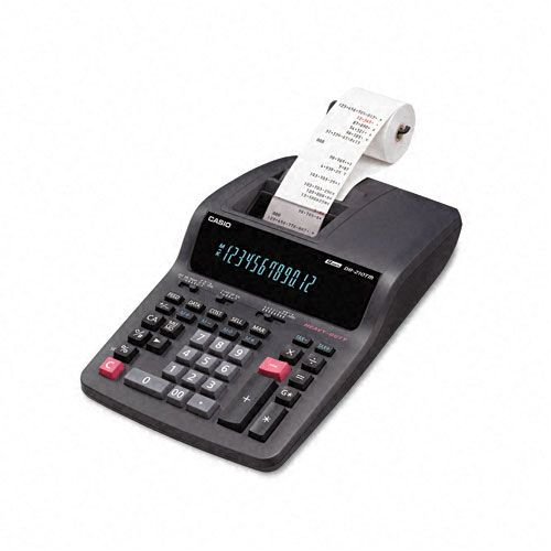 Casio DR210TM Desktop Calculator