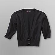 Junior's Two-Button Cropped Cardigan at Sears.com