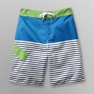 Joe Boxer Men's Board Shorts - Colorblock & Striped at Sears.com