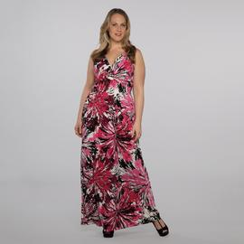 Rhapsody Women's Plus Maxi Dress - Floral at Sears.com