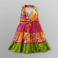 Blueberi Boulevard Infant & Toddler Girl's Tiered Halter Sundress - Floral at Sears.com