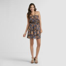 New Look Junior's Sundress & Belt - Floral at Sears.com
