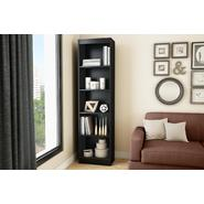 South Shore Axess 5-Shelf Narrow  Bookcase  Pure Black at Kmart.com