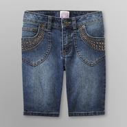 Canyon River Blues Girl's Embellished Jean Shorts at Kmart.com