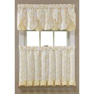 Sandra by Sandra Lee Yellow Dora Tier Curtains at Kmart.com