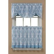 Sandra by Sandra Lee Geneva Tier Curtain - Sky Blue at Kmart.com