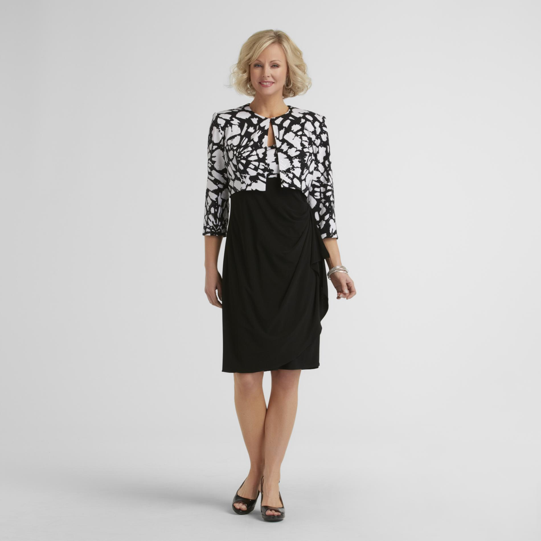 JBS Women's Dress & Jacket - Spangled Floral at Sears.com