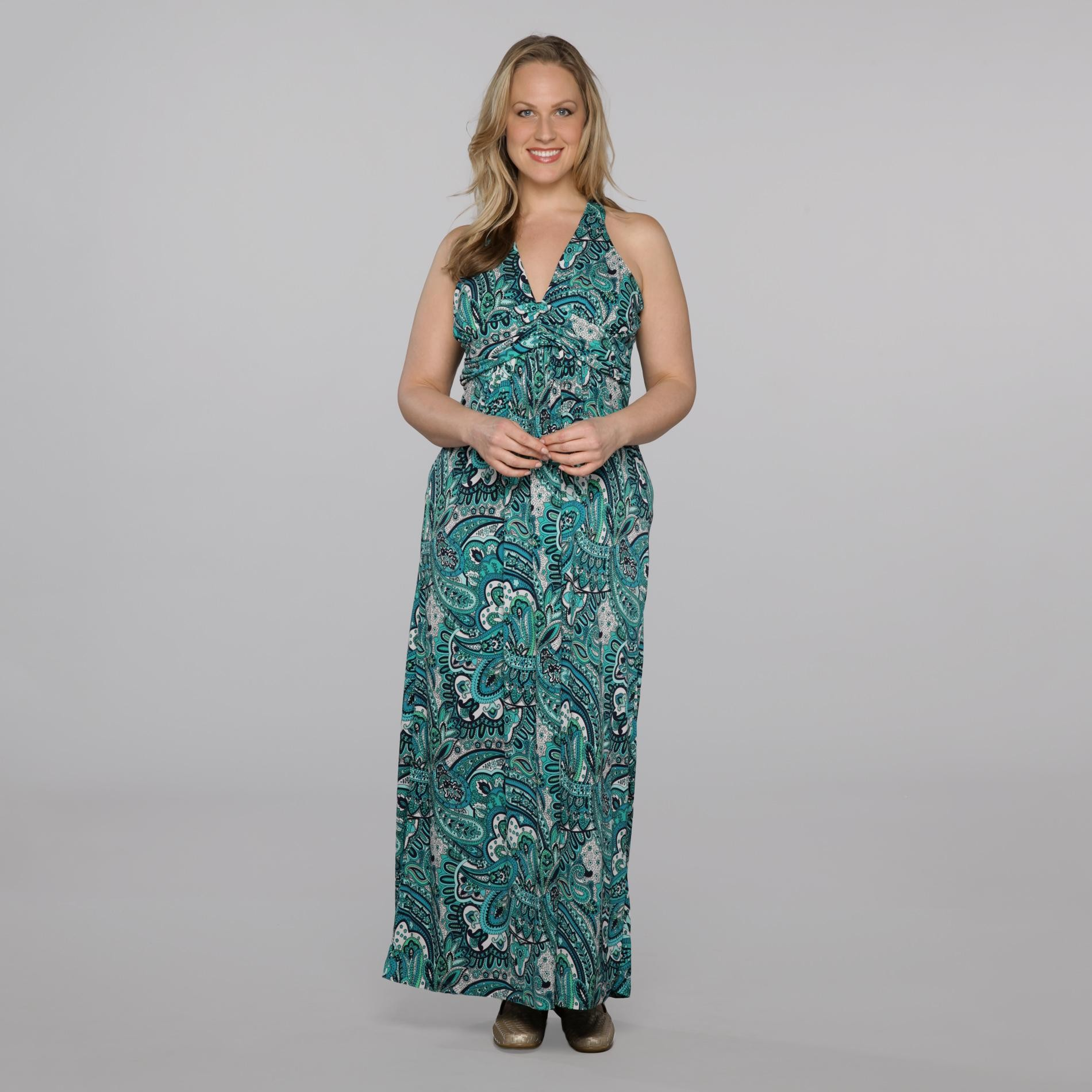 Rhapsody Women's Plus Maxi Dress - Paisley at Sears.com