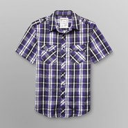 Machine Young Men's Short-Sleeve Shirt - Plaid at Sears.com