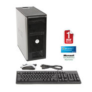 Dell 755 Refurbished tower PC C2D 3.0/4096/750/DVD/W7P at Sears.com