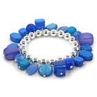 Women's Ring Bracelet - Blue
